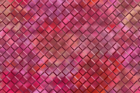 Computer graphic design abstract background of pink emboss square blocks photo