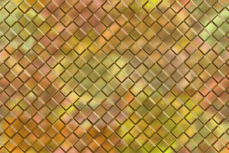 emboss: Computer graphic design abstract background of golden emboss square blocks Stock Photo