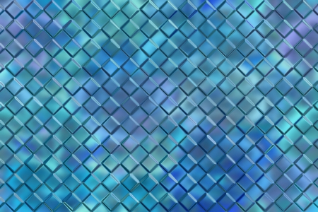 reflector: Computer graphic design abstract background of blue emboss square blocks