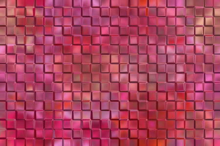 emboss: Computer graphic design abstract background of pink emboss square blocks