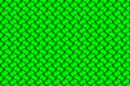 webbed: Computer graphic design of green textiles weave pattern Stock Photo