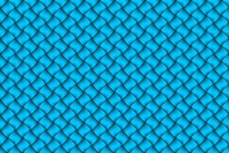 Computer graphic design of blue textiles weave pattern