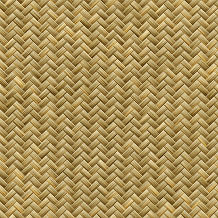 webbing: Computer generated graphic design of seamless realistic bamboo basket weave pattern