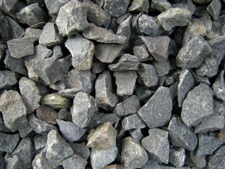 A background image of some gravel. Stock Photo - 6566667