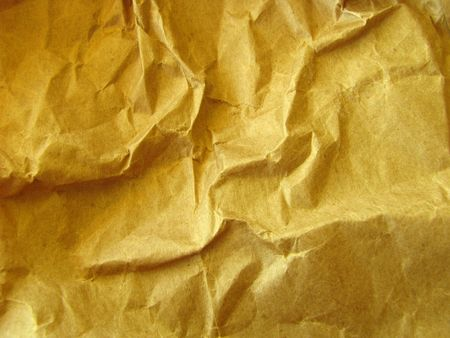 A background image of some crumpled packing paper photo