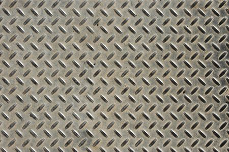 Abstract background texture of an industrial metal plate photo