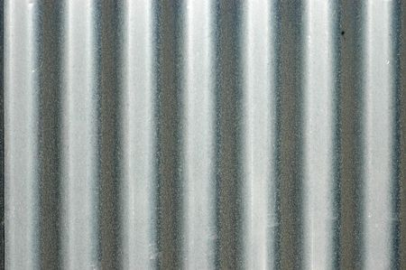 Abstract Background Texture of Corrugated Iron Banco de Imagens