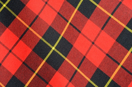 Abstract Background Texture Of Tartan Plaid Fabric photo