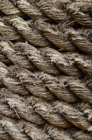 Abstract Background Texture Of Grungy Old Rope Stock Photo - 10325209