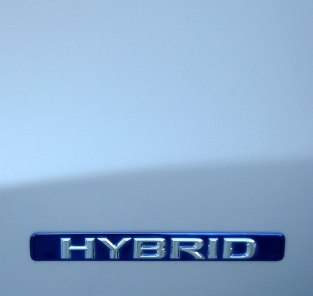 Closeup Of A An Environmental Hybrid Car Stock Photo - 12077151