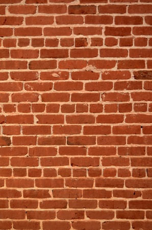 Verical Abstract Background Texture Of A Red Brick Wall photo