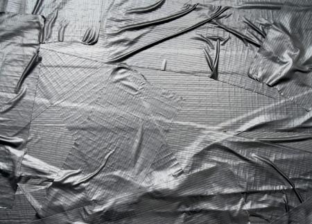 cintas: Textura abstracta del fondo de la cinta del conducto met�lico Foto de archivo