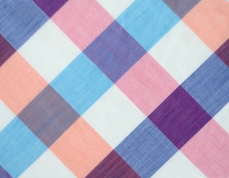 Plaid Pattern With Pastel Shades photo
