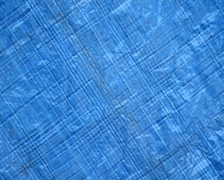 Abstract Background Texture Of Blue Woven Plastic Material photo