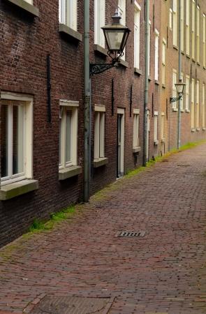 backstreet: A Deserted Cobbled Backstreet In A European City