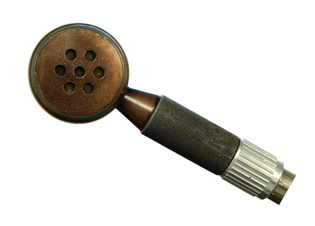 public address: Vintage Microphone For Public Address System