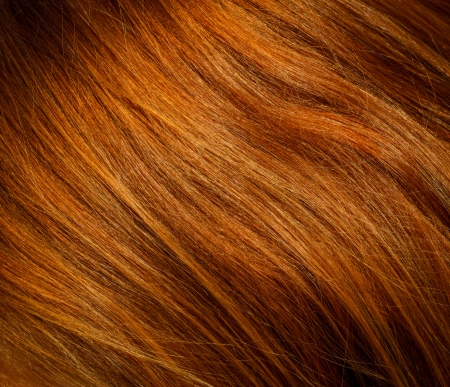 Background Texture Of Red Or Ginger Hair photo