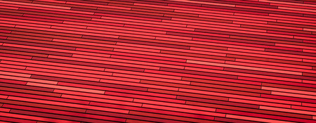 Architecture Background Pattern Of Multi-Colored Red Tiles photo