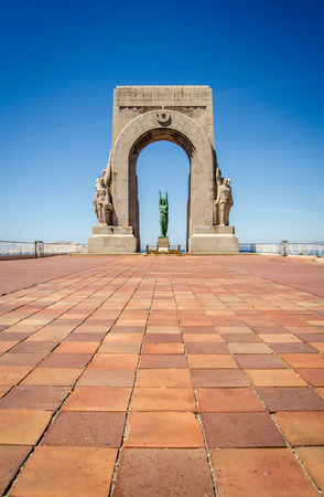 The War Memorial In Marseille, South France
