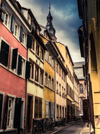 backstreet: A European Backstreet In Medieval Heidelberg, Germany