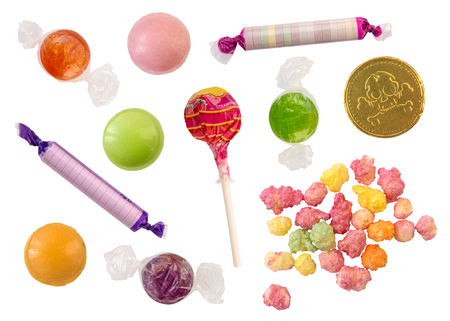 platillo volador: Isolated Collection Of Retro British Sweets (Candy)