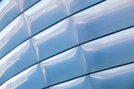Architectural Abstract Background Texture Of A Contemporary Urban Building Stock Photo