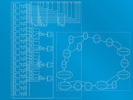 automat: Scheme of programmable automat