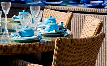 seating furniture: Garden tea party and fine dining