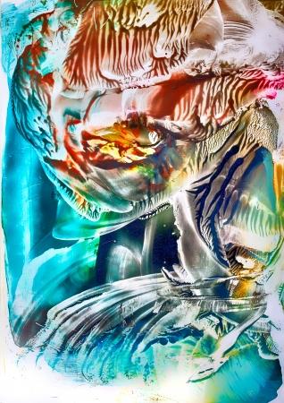 encaustic: Surreal vibrant art in encaustic wax by Kay Gale