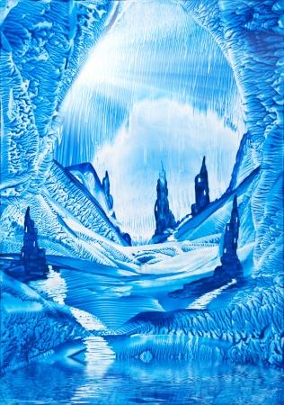 pintura rupestre: Valle de la pintura castillos