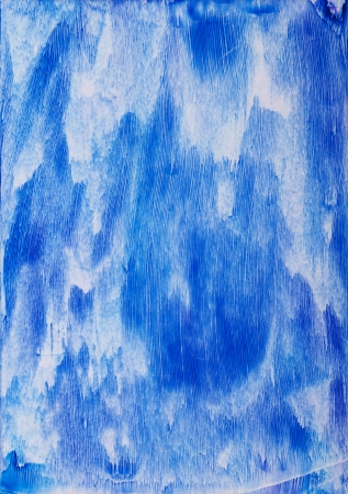 encaustic: Waterfall painting close up in wax