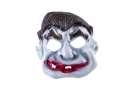 halloween mask: Halloween mask isolated on white background Stock Photo