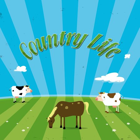 country life: country life