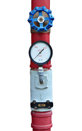 A controler of fire pipeline for emergency Stock Photo - 9866626