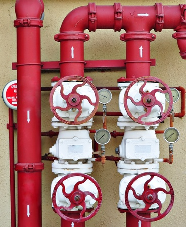 junction pipe: Fire Pipeline Control System For Emergency