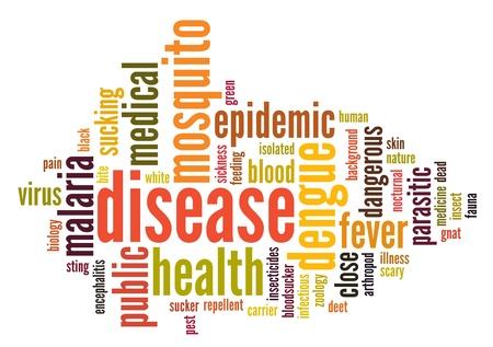 뎅 그열 Aedes의 정보 텍스트 구름
