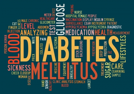 Health-care diabetes info-text graphics and arrangement concept Stock Photo - 15874967