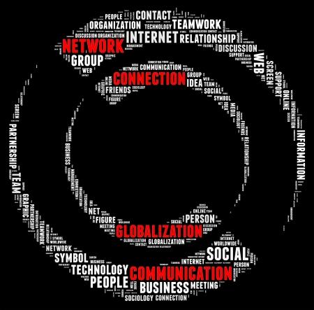 Social network info-text graphics and arrangement concept Stock Photo - 15875091
