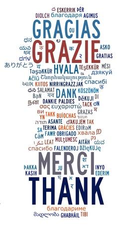 各種國際語言的信息文本雲和安排 版權商用圖片