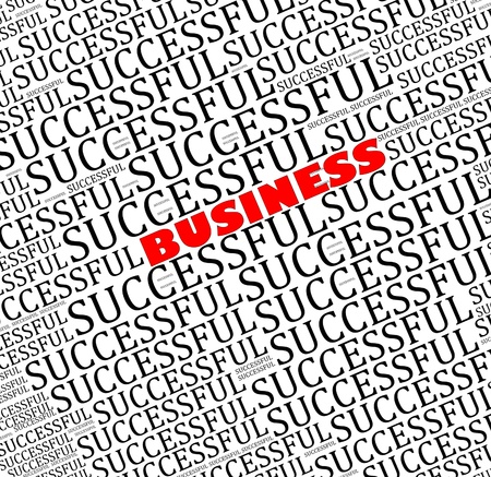 Business successful  info text graphics and arrangement  photo