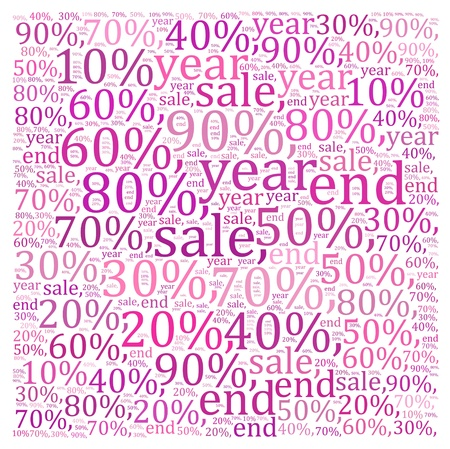 Sales discount info text graphics and arrangement  photo