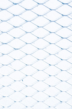 Steel net fence isolated Stock Photo - 16674463