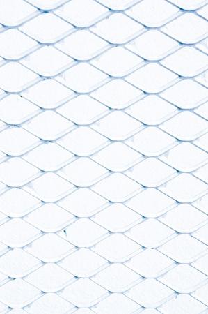 Steel net fence isolated Stock Photo - 16674463