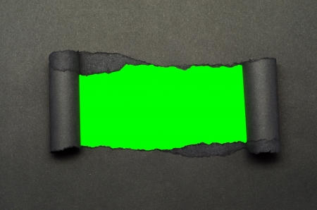 torn paper and green screen background stock photo picture and