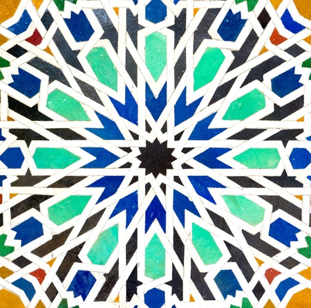 Colorful pattern of mosaic for background Stock Photo - 18981065