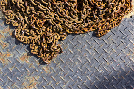 oxidado: corrector placa oxidada de cerca en la vieja fotografía de la película con la ilustración y granos efecto
