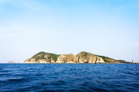 Sri Buat Island at Johor, Malaysia