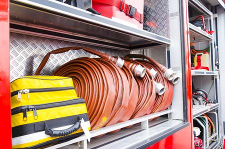 heavy duty: Putrajaya, Malaysia - Feb 26, 2012 : Firefighter heavy duty equipment for emergency response and rescue.