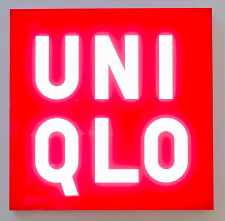 PUTRAJAYA,MALAYSIA-JANUARY 3, 2017: UNI QLO signage on January 3, 2017 at Alamanda Shopping Mall, Putrajaya.Uni Qlo is is a Japanese casual wear designer, manufacturer and retailer. Editorial