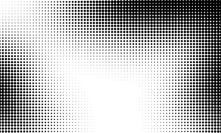 half: Halftone pattern background texture. Dotted background Texture. Stock Photo